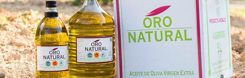 aceite premium oro natural