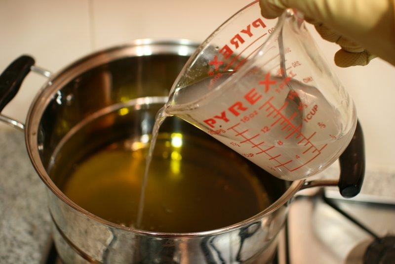elaborar jabon con aceite de oliva
