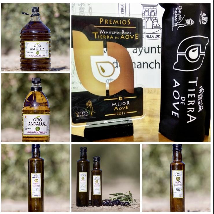 Aceites de jaen premiado
